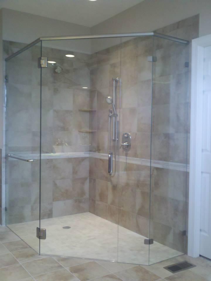 Custom Glass Shower Doors Glass Tub Enclosures Bathtub